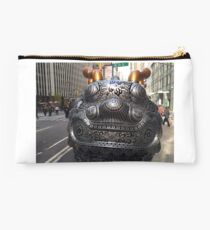 Colorful Sculptures, Broadway, New York City Studio Pouch