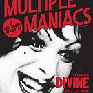 Multiple Maniacs Movie Poster by Simon Gentleman