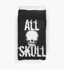 All Skull - The Dark Side Duvet Cover