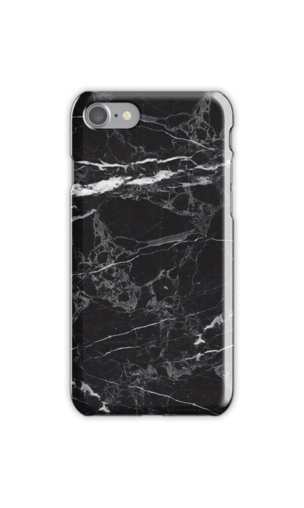 Quot Black Marble Quot Iphone Cases Amp Skins By 2d3d Redbubble