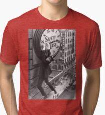 Safety Last! Movie Poster Tri-blend T-Shirt