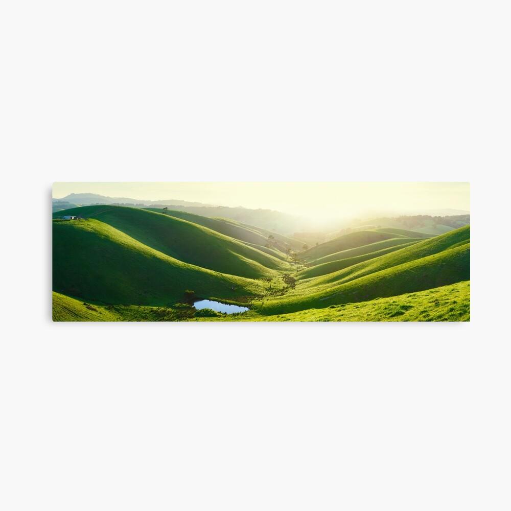Green Hills, Gippsland, Victoria, Australia Canvas Print