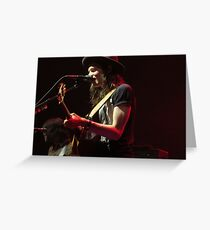 James Bay With Guitar Greeting Card