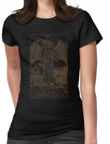 Temperance Tarot Womens Fitted T-Shirt