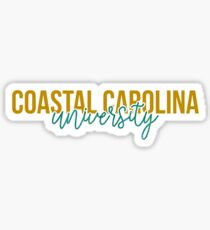 Coastal Carolina University - Style 13 Sticker