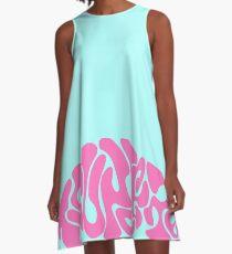 Tsundere Tag A-Line Dress