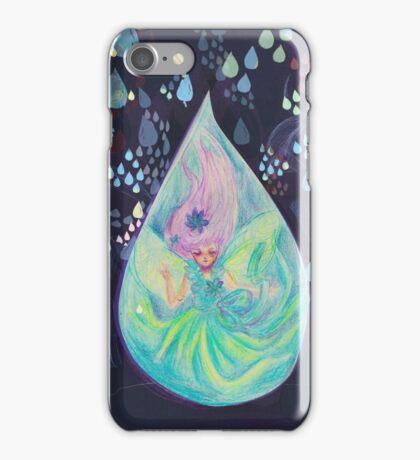 Raindrop fairy  iPhone Case/Skin