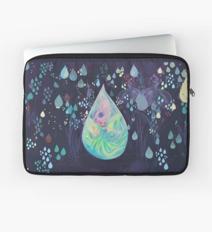 Raindrop fairy  Housse de laptop