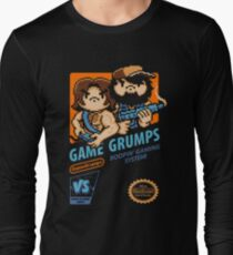 Game Grumps NES Cover Long Sleeve T-Shirt