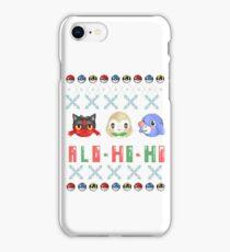 Alo-ho-ho iPhone Case/Skin