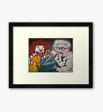 Ronald vs Colonel Framed Print