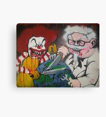Ronald vs Colonel Canvas Print