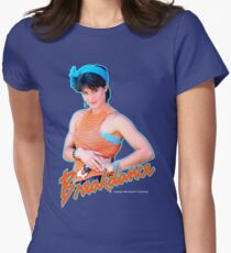 BREAKDANCE Breakin' Special K T-Shirt ELECTRIC BOOGALOO Women's Fitted T-Shirt