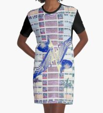 Birds of a Feather Graphic T-Shirt Dress