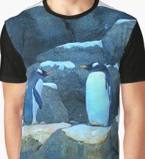 Penguin Discussion  Graphic T-Shirt
