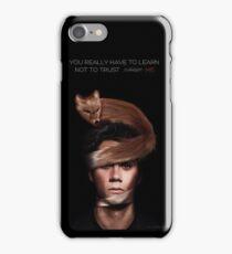 stiles stilinski void teen wolf iPhone Case/Skin