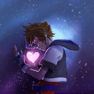 Kingdom Hearts I - Kairi's heart by Roksva