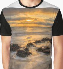 Mountcharles Sunset Graphic T-Shirt