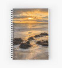 Mountcharles Sunset Spiral Notebook