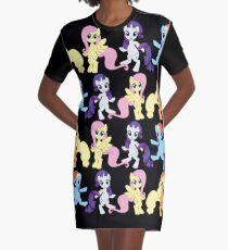 My Grateful Pony Graphic T-Shirt Dress