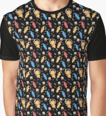 Cute Aliens Graphic T-Shirt