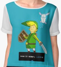 King of the Hill - Link from Zelda and Navi - Parody - Dang it Bobby, listen! Chiffon Top