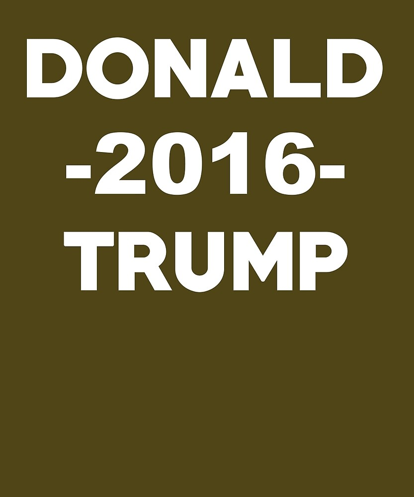 Donald Trump 2016 Election by AlwaysAwesome