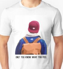 Skam - Isak's Only You Know What You Feel T-Shirt, Clothing and Acessories Unisex T-Shirt