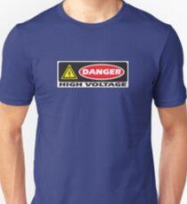 Danger - High Voltage Unisex T-Shirt