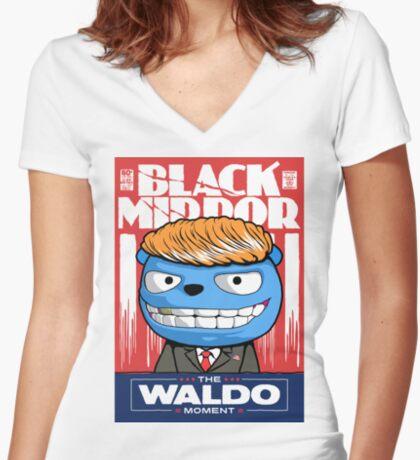 Moment Women's Fitted V-Neck T-Shirt