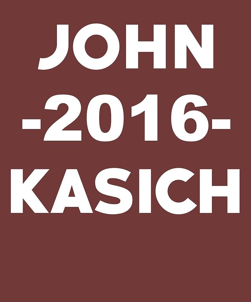 John Kasich 2016 Election by AlwaysAwesome