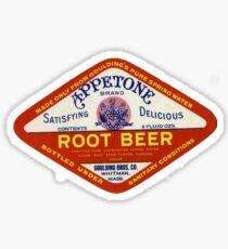 APPLETONE ROOT BEER BRAND, GOULDING BROS. CO. Sticker