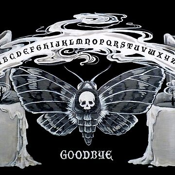 Moth Spirit Board by jennyfontana