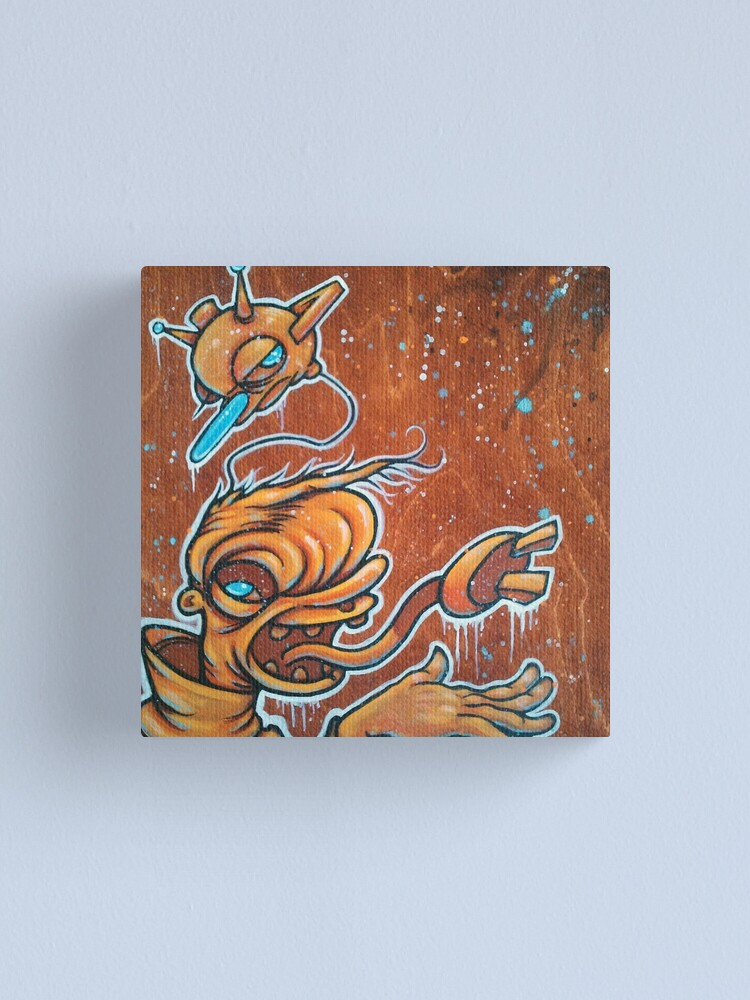 Alternate view of Static Age Canvas Print