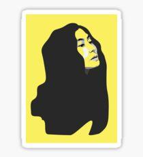 Yoko Ono - Pop Style Sticker
