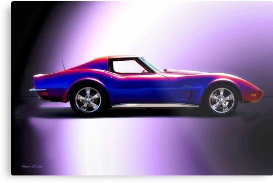 C3 Corvette Stingray 'Studio Profile' by DaveKoontz