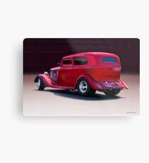 1934 Ford Tudor Sedan Metal Print