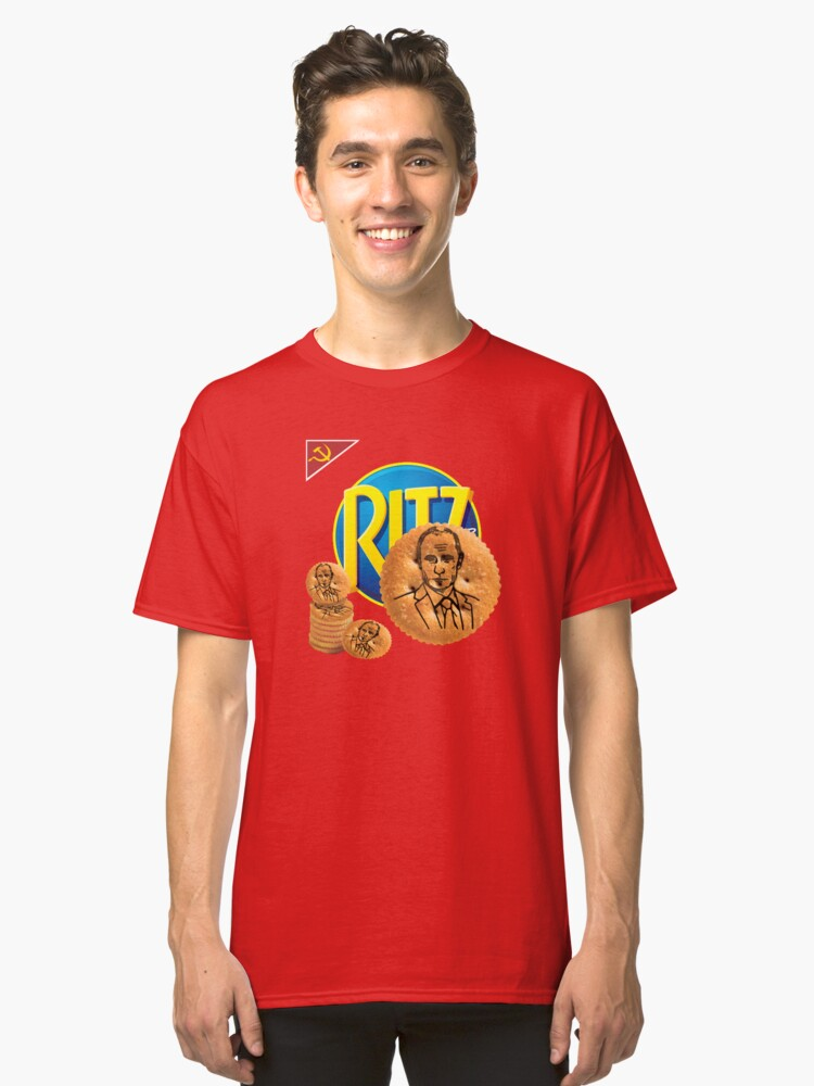 Putin On The Ritz Classic T-Shirt Front