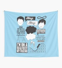 The Fault In Our Stars Collage Wall Tapestry