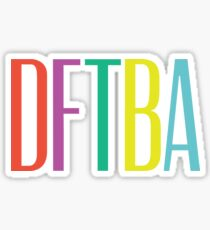 DFTBA 2.0 Sticker