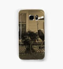 Old house and wagon Samsung Galaxy Case/Skin