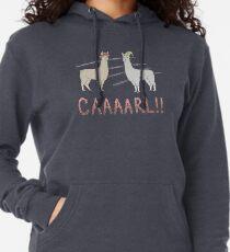 Llamas with Hats - Carl! Lightweight Hoodie