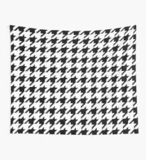 Houndstooth Pixel Pattern – Wall Tapestry Wall Tapestry