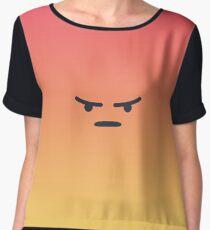 Angry React Chiffon Top
