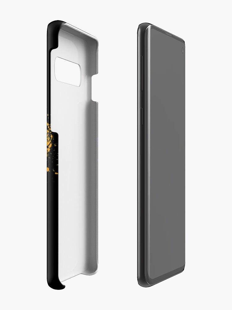 Vista alternativa de Funda y vinilo para Samsung Galaxy TMNT 2K12