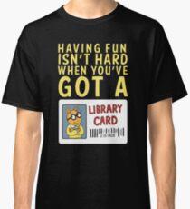 Camiseta clásica Arthur Library Card