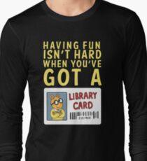 Arthur Library Card T-Shirt