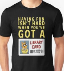 Arthur Library Card Unisex T-Shirt
