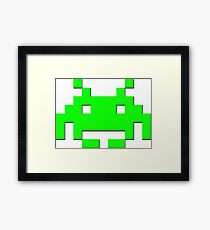 Invader Framed Print