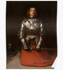 Jeanne d'Arc - John Everett Millais - 1865 Poster